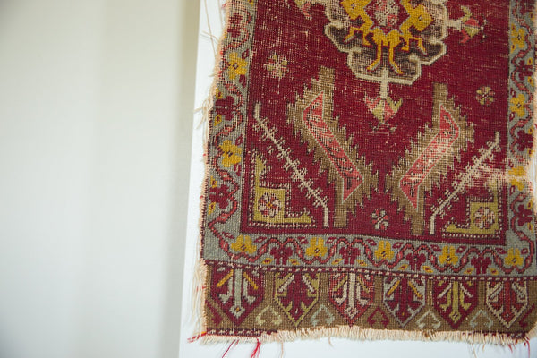 Antique Turkish Rug Mat