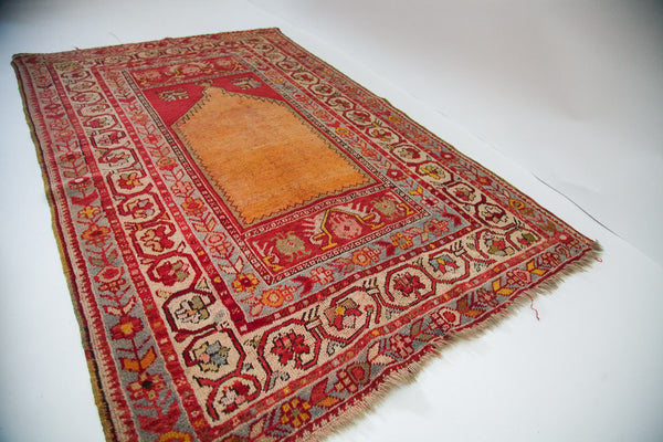 Orange Yellow Saffron Rug