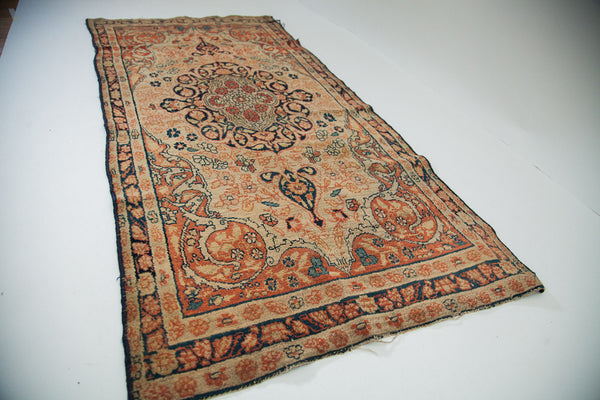 2x5 Antique Senneh Baft Rug - Old New House