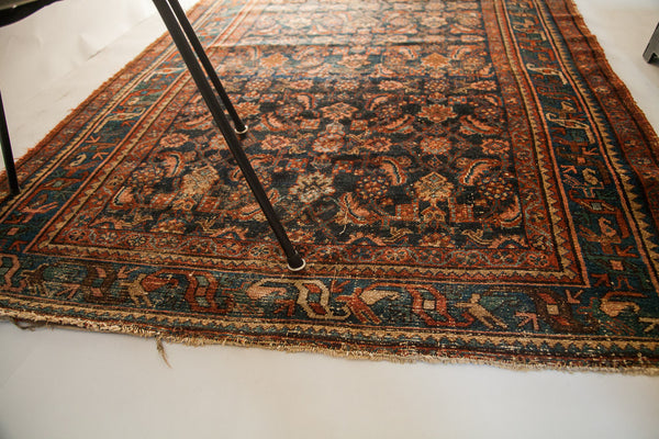 4x6 Vintage Tattered Persian Rug - Old New House