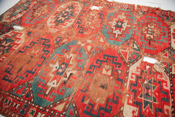 4x5 Bohemian Chic Tribal Rug - Old New House