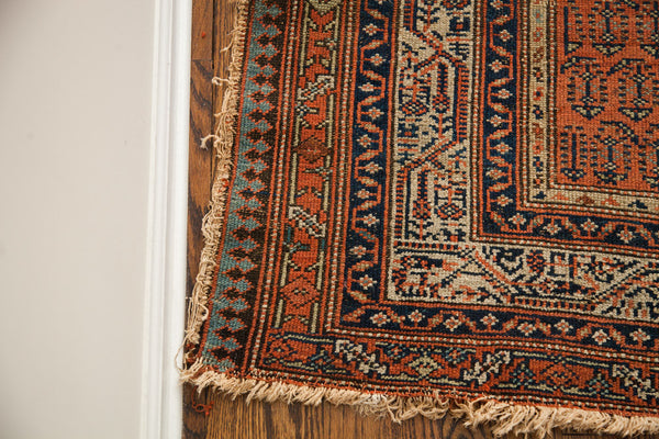 5x10 Antique Persian Serbend Rug Runner - Old New House
