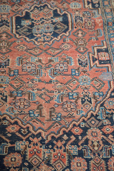 4x7 Antique Bijar Rug - Old New House