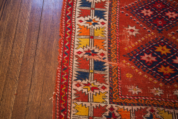 3x4 Bright Cheerful Turkish Rug - Old New House