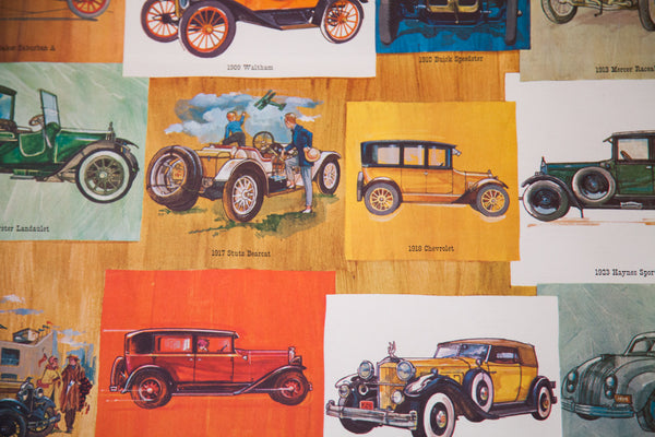 Antique Automobiles Poster