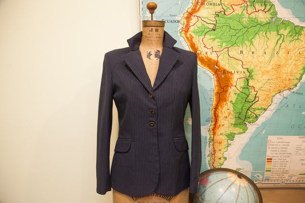 Vintage Town And Country Horse Equestrian Blazer - Old New House