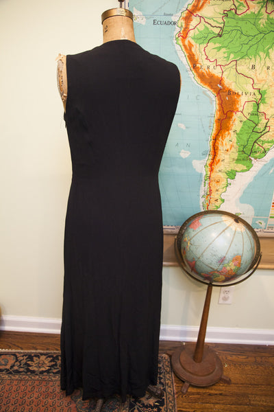Vintage Moschino Black Dress - Old New House