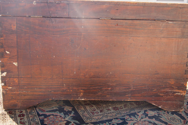 Vintage Cedar Blanket Chest Trunk - Old New House