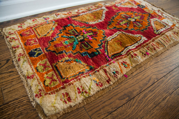 2x2.5 Funky Vintage Turkish Rug