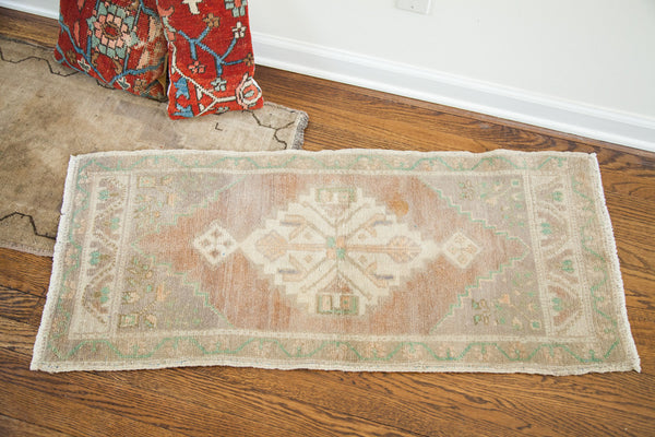 2x4 Blanched Small Turkish Rug Runner