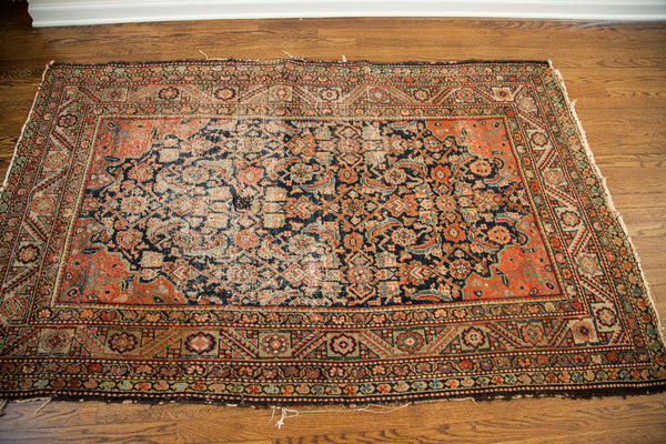 4x7 Antique Worn Feraghan Rug - Old New House