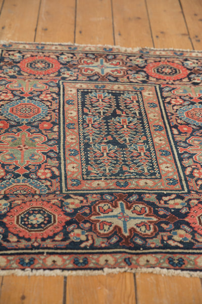 Square Blue Tribal Malayer Rug / Item 1638 image 11