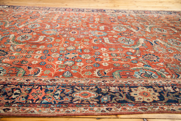 7x10 Antique Fereghan Carpet - Old New House