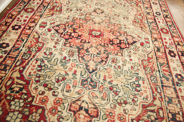 3x4 Worn Antique Kerman Rug - Old New House