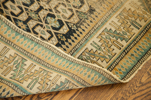 3x5 Worn Antique Caucasian Rug - Old New House