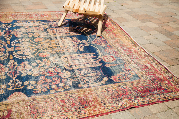 8x10 Antique Persian Kerman Carpet - Old New House