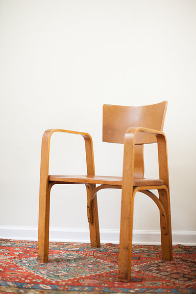Exceptionnel ... Early Vintage Thonet Bent Plywood Chair   Old New House ...
