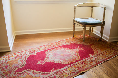 3x6 5 Cranberry Red Rug Runner