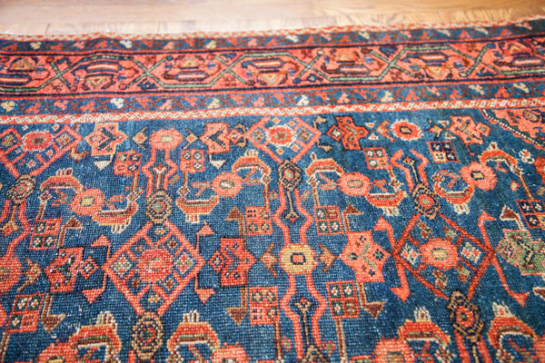 3x6 Fine Malayer Indigo Persian Rug Runner - Old New House