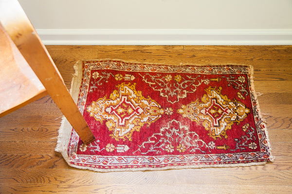 Small Turkish Scatter Rug / Item 1734 image 3