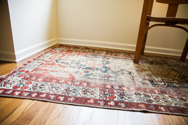 4x5.5 Distressed Northwest Persian Rug - Old New House