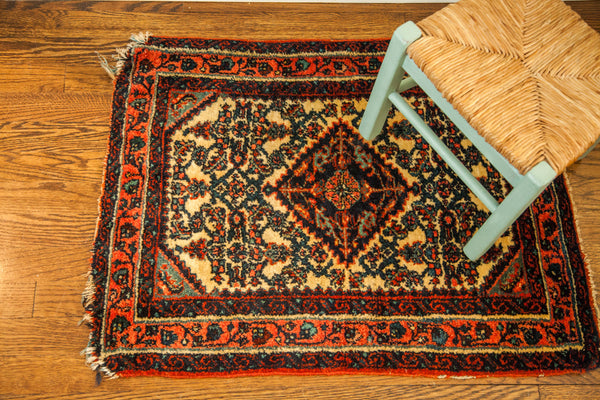 2x2.5 Vintage Persian Rug - Old New House
