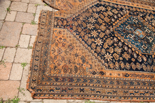 6x10 Large Antique Tribal Rug - Old New House