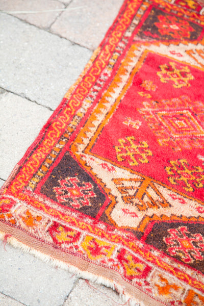 2x3 Red Turkish Scatter Rug - Old New House