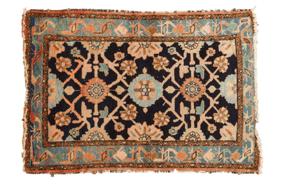 2.5x4 Faded Blue Lilihan Rug - Old New House