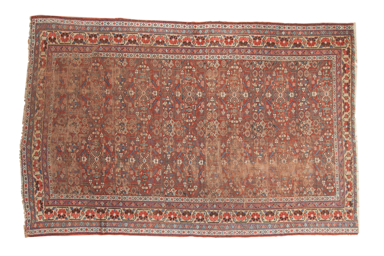 6x8 Antique Kurdish Carpet // ONH Item 1779
