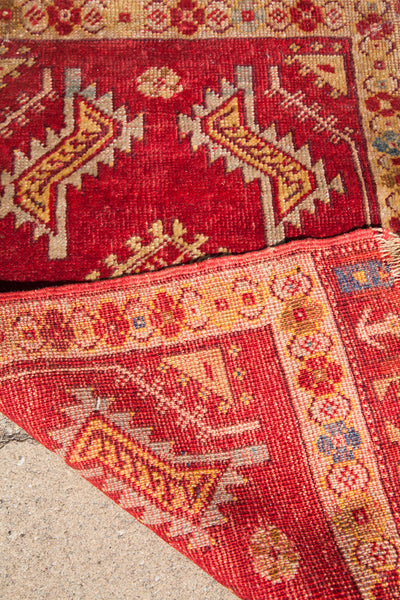1.5x3 Vintage Turkish Rug Mat - Old New House