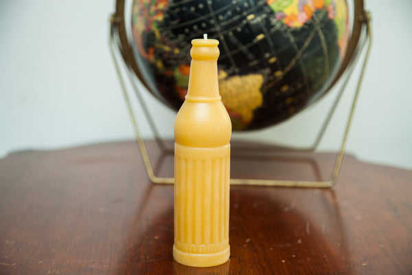 Antique Bottle Beeswax Candle Collection Soda Pop - Old New House