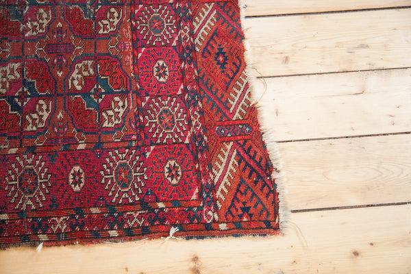 3x4 Antique Tekke Rug Mat - Old New House