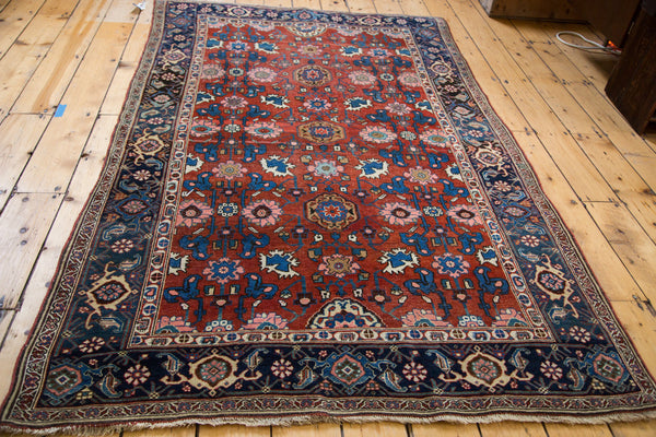 Antique Persian Bijar Area Rug / Item 1868 image 4