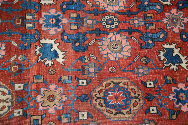 Antique Persian Bijar Area Rug / Item 1868 image 2