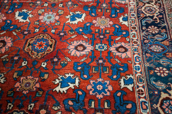 Antique Persian Bijar Area Rug / Item 1868 image 8