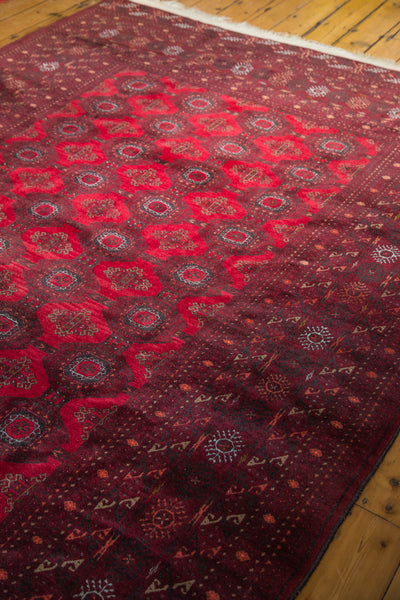7x9.5 Large Vintage Bokhara Rug - Old New House