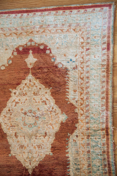 RESERVED 2x3 Antique Silk Persian Tabriz Rug Mat - Old New House