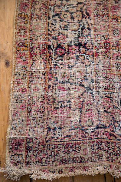 9x13 Antique Persian Kerman Carpet Cypress Trees - Old New House