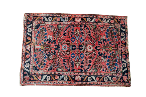 2x3 Vintage Persian Lilihan Mat - Old New House