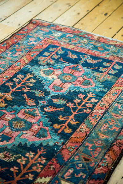 3x6 Vintage Persian Hamadan Rug Runner - Old New House