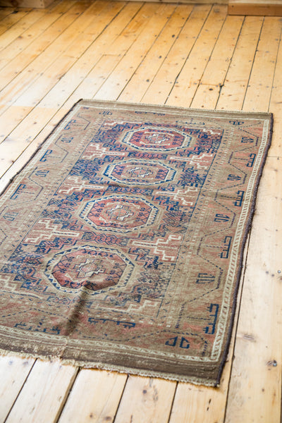 3.5x6 Antique Belouch Rug - Old New House