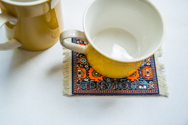 Oldest Discovered Rug Pazyryk Coaster Set - Old New House