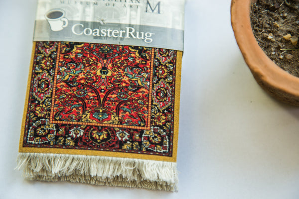 Metropolitan Museum of Art Persian Rug Coaster Set - Old New House