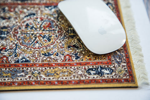 Persian Oriental Rug Mouse Pad   Old New House