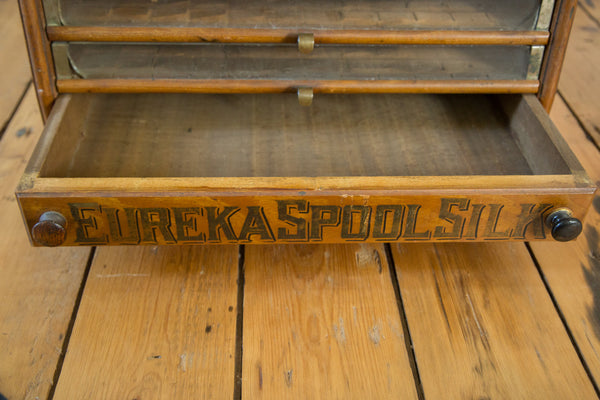 ... Antique Victorian Eureka Silk Spool Cabinet   Old New House ...