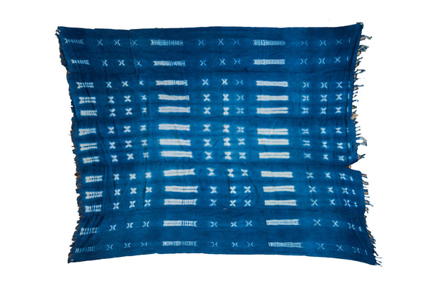 3.5x4.5 Batik Blue Textile - Old New House