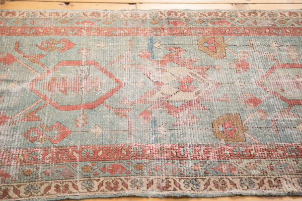 3x4 Antique Serapi Square rug - Old New House