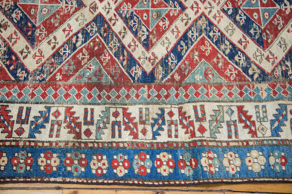 3x8 Antique Bijar Rug Runner - Old New House