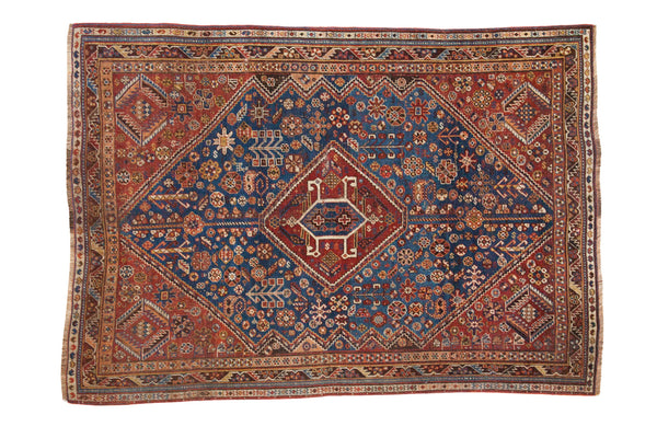4.5x6.5 Antique Shiraz Style Rug - Old New House